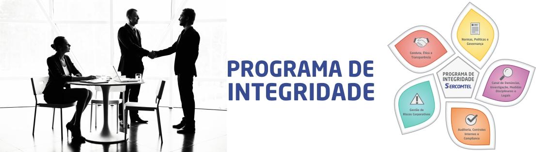 Banner Programa de Integridade